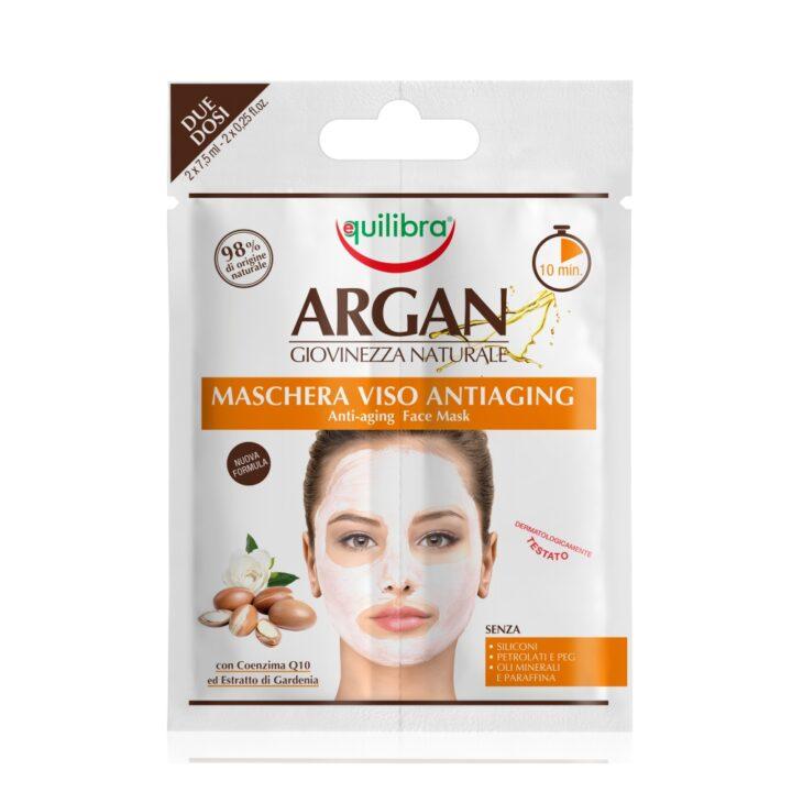 Arganowa przeciwstarzeniowa maseczka do twarzy 2 x 7,5 ml